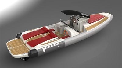 Pirelli PZERO 1100 Yacht Tender (Inboard Diesel) 15