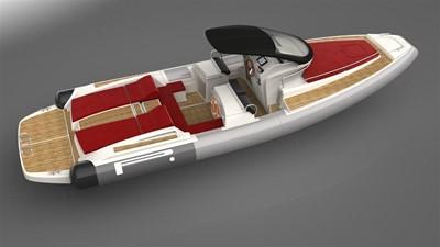 Pirelli PZERO 1100 Yacht Tender (Inboard Diesel) 20