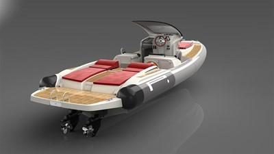 Pirelli PZERO 1100 Yacht Tender (Inboard Diesel) 16
