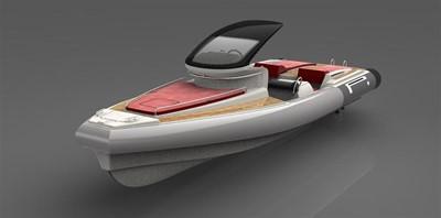 Pirelli PZERO 1100 Yacht Tender (Inboard Diesel) 19