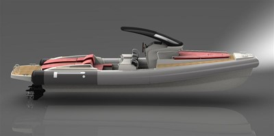 Pirelli PZERO 1100 Yacht Tender (Inboard Diesel) 21
