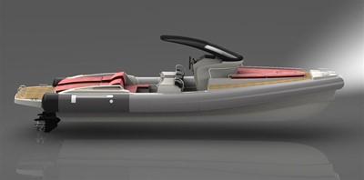 Pirelli PZERO 1100 Yacht Tender (Inboard Diesel) 22