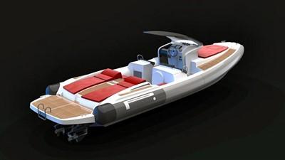 Pirelli PZERO 1100 Yacht Tender (Inboard Diesel) 31