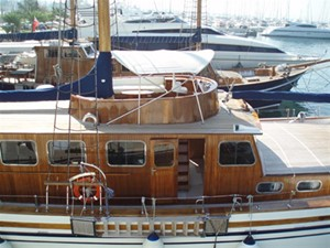 HERMINA 6 HERMINA 1993 HALKITIS URANIA  Motorsailor Yacht MLS #107255 6