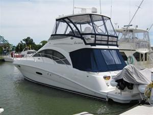 No Name 1 No Name 2008 SEA RAY 47 Sedan Bridge  **BRISTOL** Motor Yacht Yacht MLS #113500 1