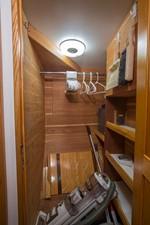 Forward Cedar Lined Hanging Locker