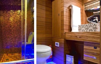 Master cabin ensuite bathroom