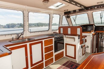 Galley Showing New Windows