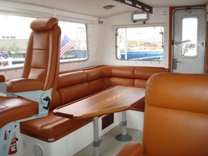 STARLIGHT 6 Pilothouse Stbd Side, Looking Aft
