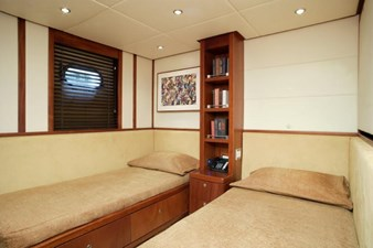 One of two guest twin staterooms with Pullman (sistership)