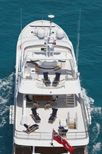 Boat deck and flybridge (sistership