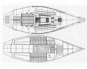 Kaos 1 Kaos 1985 X YACHTS 3/4 Ton Racing Sailboat Yacht MLS #15449 1