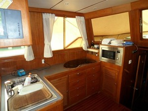 Custom Trawler 54 5 Custom Trawler 54 2003 CUSTOM Custom Trawler 54 Trawler Yacht Yacht MLS #204427 5