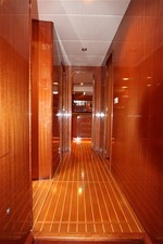 Hallway to staterooms