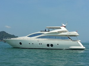 Aicon 85 Flybridge - Profile Photo