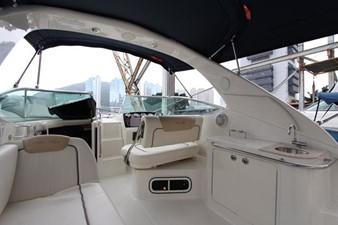 Sea Ray 280 Sundancer - Cockpit