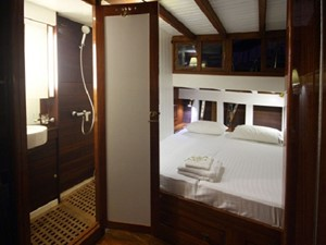 Aventure 14 Ketch Classic Yacht 28m - Master Cabin