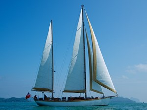 Ketch Classic Yacht 28m - Profile