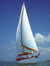 Aventure 19 Ketch Classic Yacht 28m - Sailing