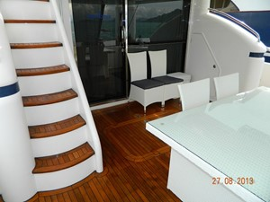 Princess 65 - aft deck