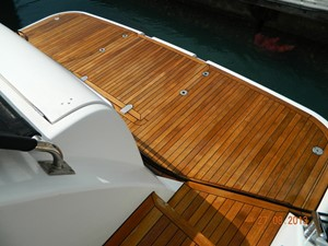 Princess 65 - swim platform