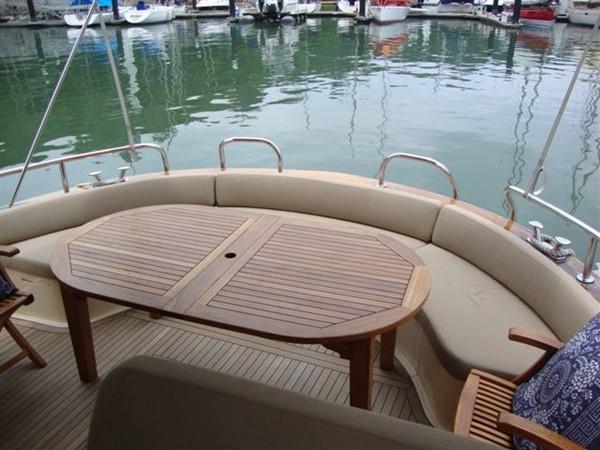 Apreamare 12 Comfort - aft deck