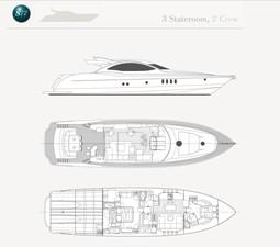S77 3 S77 2017 WARREN YACHTS S77 Sport Yacht Yacht MLS #214546 3