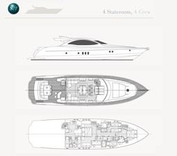 S77 4 S77 2017 WARREN YACHTS S77 Sport Yacht Yacht MLS #214546 4