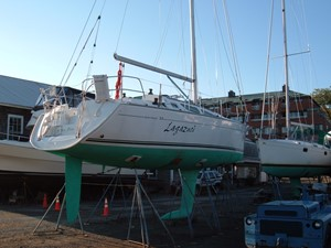 Lagazuoi  13 Keel and rudder