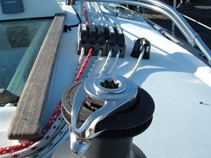 Lagazuoi  27 Lines led aft to winches