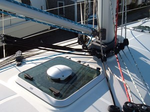 Lagazuoi  28 Mid-ship hatch with solar vent