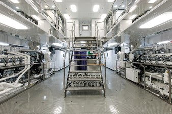 Solandge 45 Engine Room