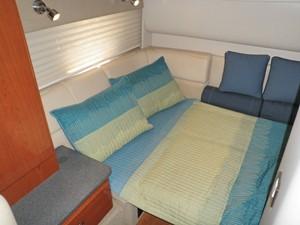 Aft cabin berth