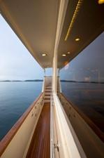 Lighted Covered Side Decks