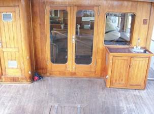 Aft deck entry