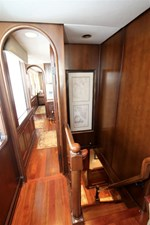 Hall to ships office and Master Stateroom