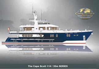 CAPE SCOTT 114 1 CAPE SCOTT 114 2020 CAPE SCOTT MARINE  Motor Yacht Yacht MLS #222181 1