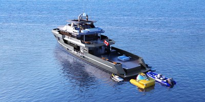 All Ocean Yachts-Bray Ocean Rover 132 1 Aft Profile
