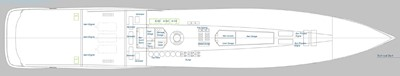ACURY SSY 125 12 ACURY SSY 125 Super Sport Yacht General Arrangement Tank Deck