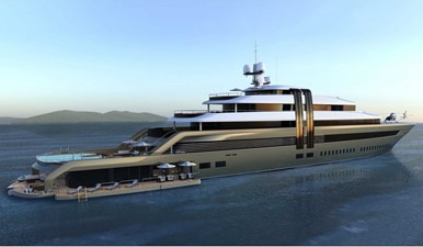 ACURY MY 98 4 ACURY MY 98 2021 NEDSHIP Mega Yacht 98m Motor Yacht Yacht MLS #224267 4