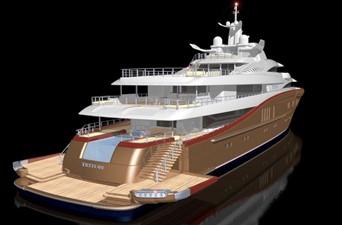 ACURY MY 87 5 ACURY Mega Yacht Project Triton 87m