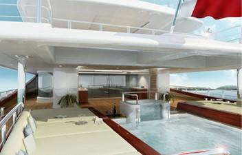 ACURY MY 87 7 ACURY Mega Yacht Project Triton 87m exterior