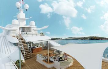 ACURY MY 87 11 ACURY Mega Yacht Project Triton 87m exterior