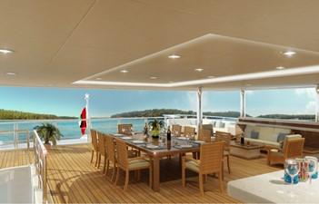 ACURY MY 87 10 ACURY Mega Yacht Project Triton 87m exterior