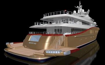 ACURY MY 87 6 ACURY Mega Yacht Project Triton 87m exterior