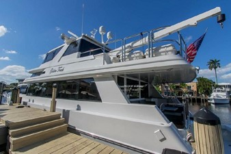 GOLDEN TOUCH 6 PROFILE - Showing Port Side at Dock