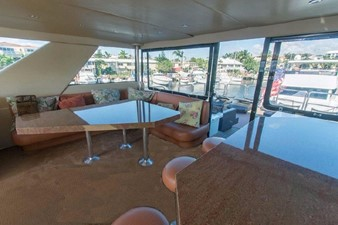 GOLDEN TOUCH 43 ENCLOSED F/B  - Looking Aft & to Starboard