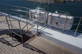 Stairway to Lower Deck