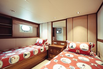 Twin Guest Stateroom with Pullman