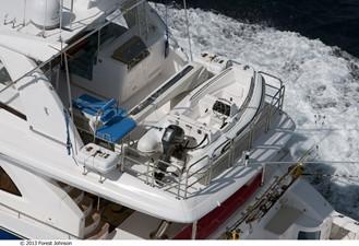 JOHNSON 80' FLYBRIDGE w/FISHING COCKPIT 9 Boat deck